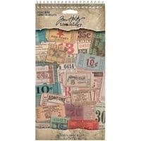 Tim Holtz - Idea-ology - Ticket Book